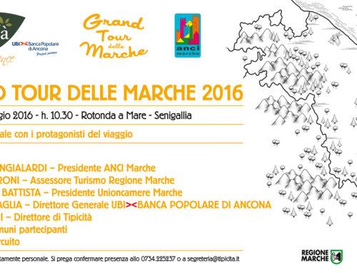 Dalla Rotonda di Senigallia parte lunedì il Gran Tour delle Marche