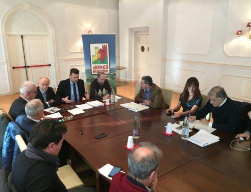 """Anci Marche al Commissario Farabollini: """"Trovare le soluzioni che ci permettano di velocizzare la ricostruzione""""."""