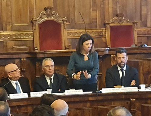 """Paola De Micheli è un Ministro quasi marchigiano.  Mangialardi, Presidente Anci Marche """"Urge il nuovo commissario e il testo unico delle norme"""". Ministro De Micheli: Il punto è decidere"""""""