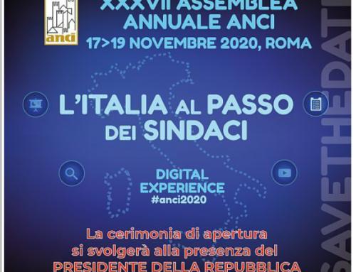 """""""L'Italia al passo dei Sindaci"""", Assemblea Anci dal 17 al 19 novembre"""