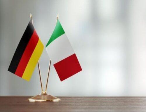 """""""Premio dei Presidenti della Repubblica Italiana e della Repubblica federale tedesca alla cooperazione comunale""""."""