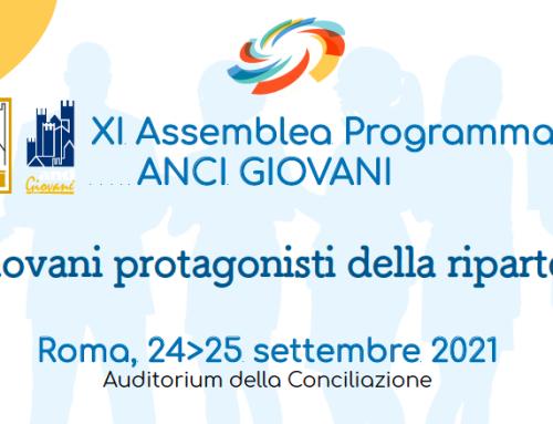 Assemblea Nazionale ANCI giovani – Roma, 24-25 settembre